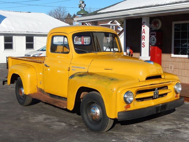international harvester r 112 truck 1953 yellow for sale sd220200384 53 international harvester. Black Bedroom Furniture Sets. Home Design Ideas
