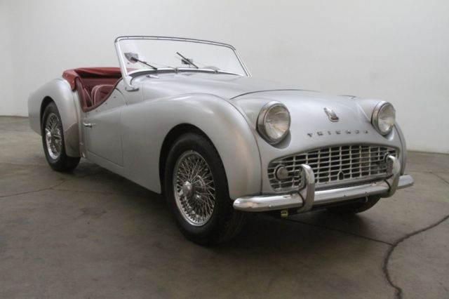 Triumph Other Convertible 1958 Silver For Sale 06199 58 Triumph Tr3