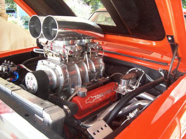 Chevrolet Nova Coupe 1963 Orange For Sale  '63 Nova Pro