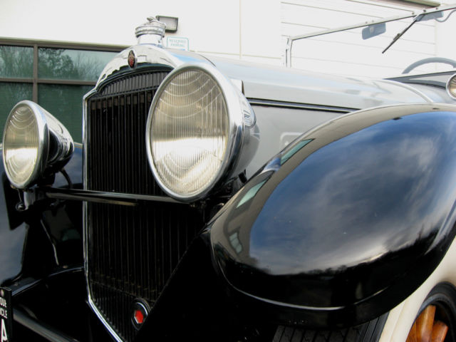 1929 Packard Touring Car For Sale: Packard Phaeton Convertible 1929 Gray For Sale. 257980 633