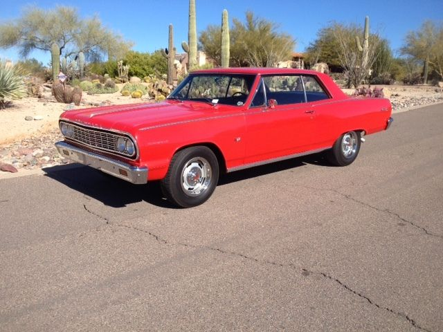 Chevrolet Chevelle Coupe 1964 Red For Sale 64 Malibu SS 4 Speed