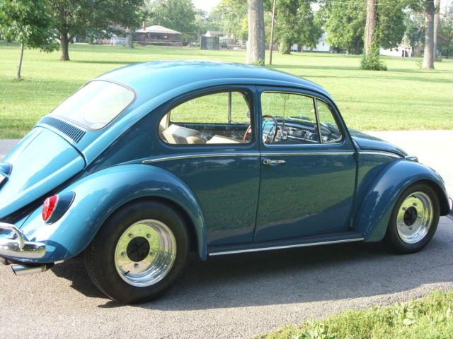 Volkswagen Beetle Classic Sedan 1965 Sea Blue For Sale