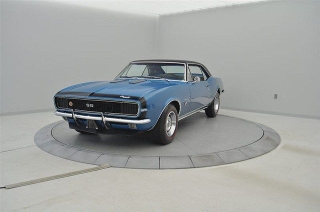 chevrolet camaro coupe 1967 marina blue f for sale 124377n178165 67 camaro rs ss 396ci 325hp. Black Bedroom Furniture Sets. Home Design Ideas