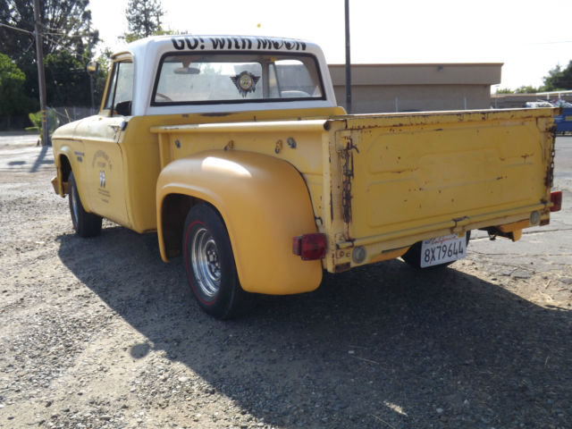 Dodge Other Pickups Truck 1968 Yellow For Sale Clear And
