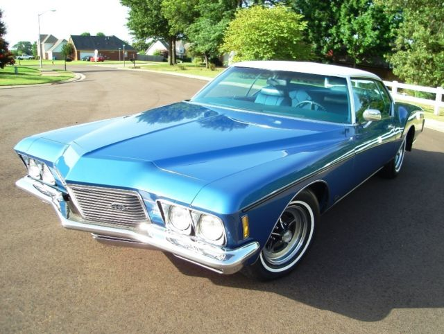 buick riviera coupe 1971 blue for sale 494871h924143 71 buick riviera boat tail excellent. Black Bedroom Furniture Sets. Home Design Ideas