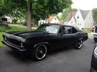 Chevrolet Nova 2 Door 1971 Flat Black For Sale 113271w211449 71 Chevy Nova