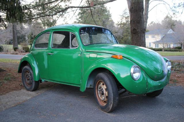 volkswagen beetle classic 1972 green for sale. Black Bedroom Furniture Sets. Home Design Ideas