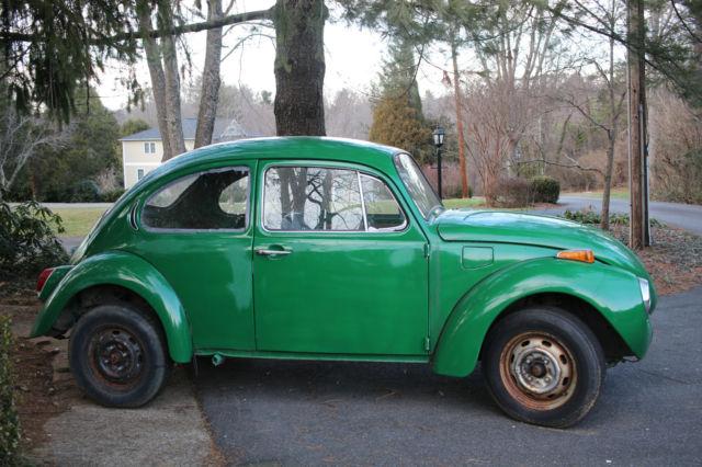 volkswagen beetle classic 1972 green for sale 1122030017 72 volkswagen superbeetle parts car. Black Bedroom Furniture Sets. Home Design Ideas