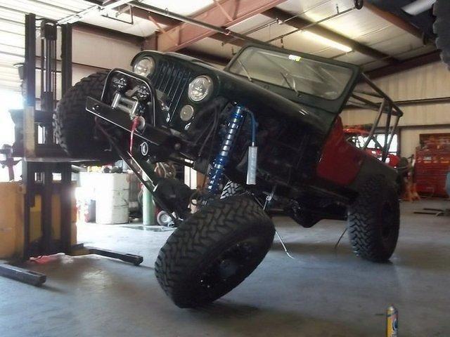 Clear Lake Jeep >> Jeep CJ 1986 Black For Sale. 1jccf87e3gt024005 '86 Jeep CJ7 Rock Crawler V8, 1 Ton axles, King ...