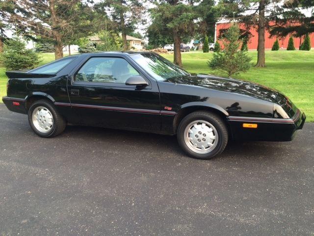 Dodge Daytona Hatchback 1989 Black For Sale. 1B3XG24A2KG135498 '89