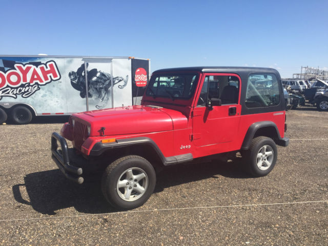 For sale 1991 Jeep Wrangler Steel Doors Black Hard Top Fun in the Sun & Jeep Wrangler SUV 1991 Red For Sale. 2J4FY19P0MJ101701 91 JEEP ...
