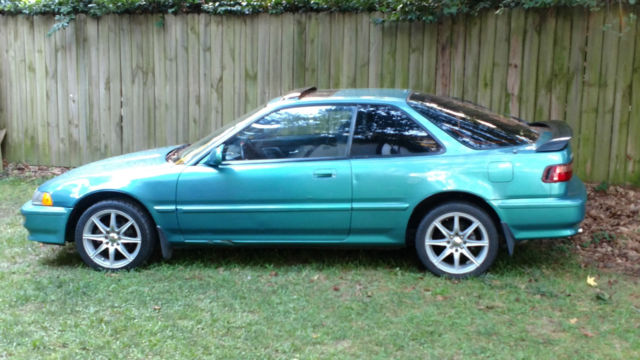 Acura Integra Hatchback 1992 Green For Sale JH4DB2384NS002644 92 Intergra GSR
