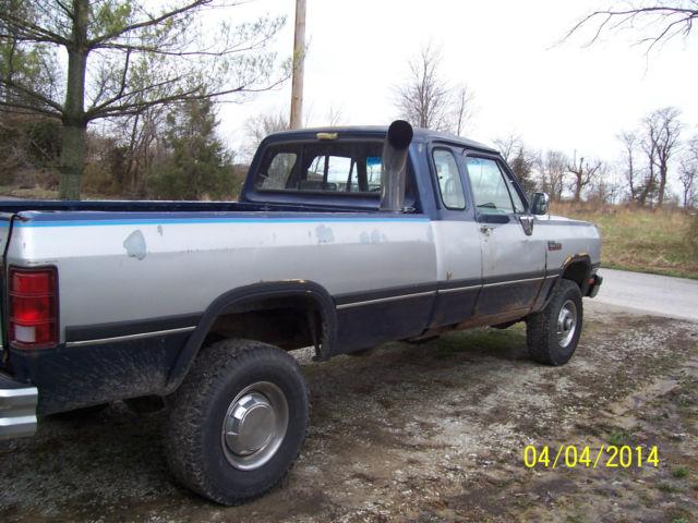 Dodge ram 2500 1993 for sale 3b7km23c7pm115930 93 dodge for Dodge 12 valve cummins motor for sale