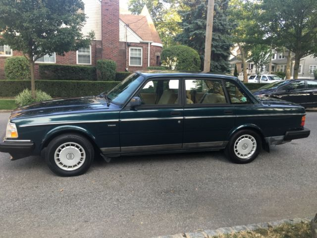 volvo 240 sedan 1993 blue for sale yv1as8804p1480091 39 93 volvo 240 one owner runs and looks a. Black Bedroom Furniture Sets. Home Design Ideas