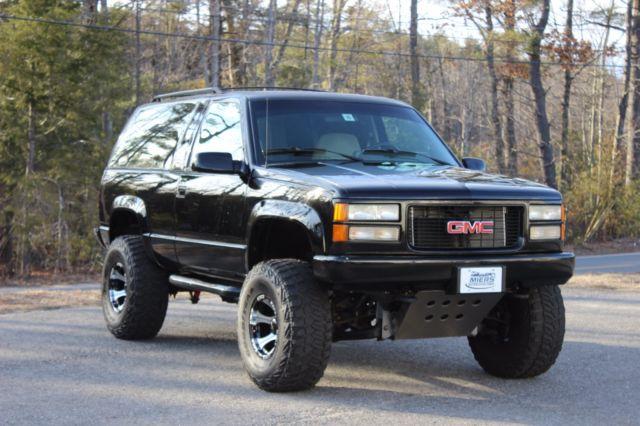 For sale: 1994 GMC Yukon & GMC Yukon SUV 1994 Black For Sale. 1GKEK18K3RJ739709 A RARE FIND ... Pezcame.Com
