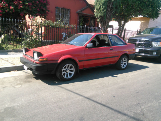 Toyota Corolla For Sale Near Me >> Toyota Corolla Coupe 1986 Red For Sale. JT2AE86S9G0207065 ...