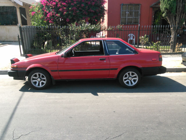 toyota corolla coupe 1986 red for sale jt2ae86s9g0207065 ae86 1986 toyota corolla sr5. Black Bedroom Furniture Sets. Home Design Ideas