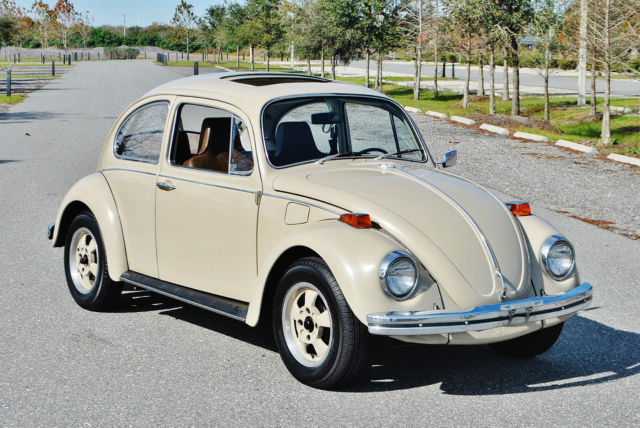 volkswagen beetle - classic coupe 1970 tan for sale. 1102212304