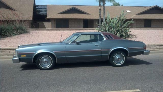 Ford Torino Coupe  Grey For Sale Gh Arizona Rust Free Classic  Ford Elite Gran Torino Starsky Hutch