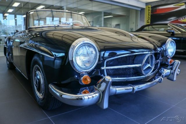 mercedes benz 190 series convertible 1962 black for sale a121040 audi west palm beach used. Black Bedroom Furniture Sets. Home Design Ideas