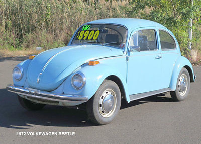 Volkswagen Beetle - Clic Coupe 1972 Blue For Sale. 1122779233 ...