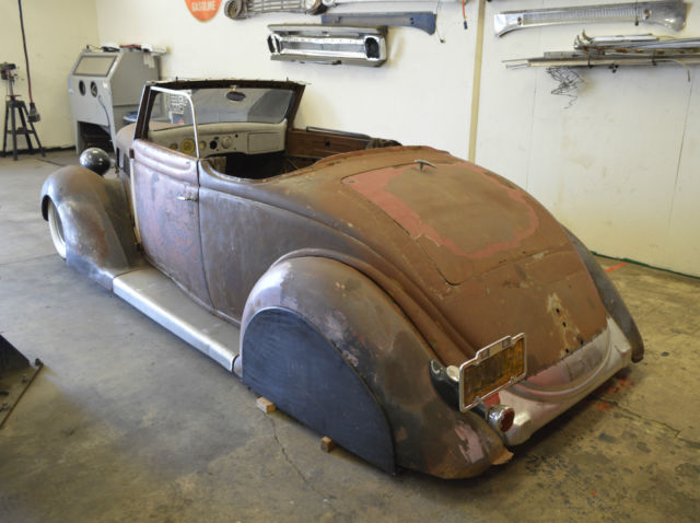 Ford Fat Fender Convertible 1936 For Sale Bagged