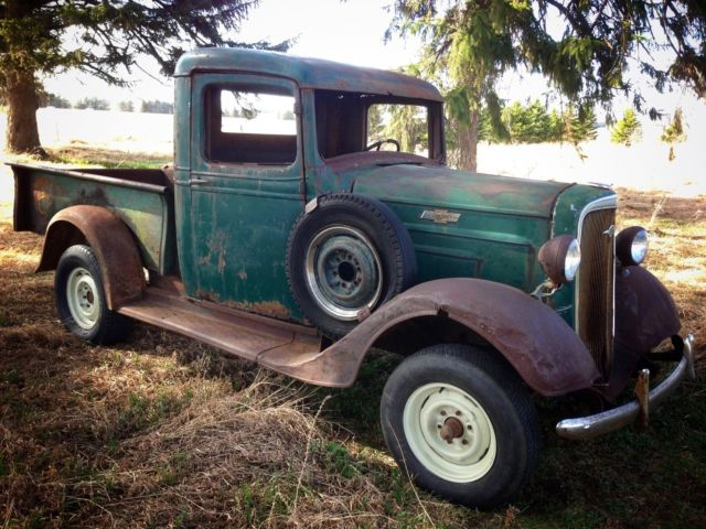Chevrolet Other Pickups Pickup 1936 Green For Sale Barn