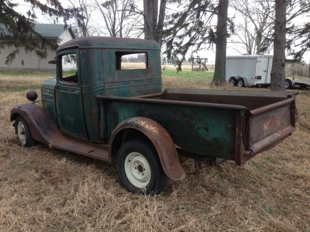 Chevrolet Other Pickups Pickup 1936 Green For Sale Barn