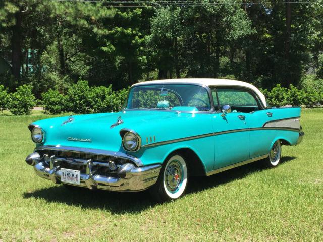 Chevrolet bel air 150 210 sport sedan 1957 tropical for 1957 chevy bel air 4 door hardtop for sale