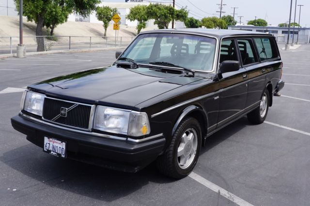 volvo 240 wagon 1990 black for sale yv1aa8257l1879434. Black Bedroom Furniture Sets. Home Design Ideas