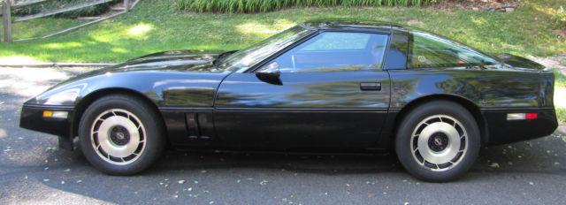 Chevrolet Corvette Coupe 1984 Black For Sale 1g1ay0789e5138762