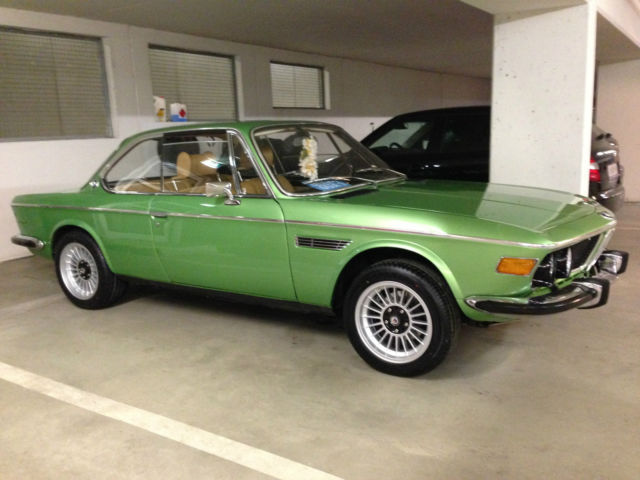 Bmw Other Coupe 1975 Taiga Green For Sale 4340868 Bmw 3 0