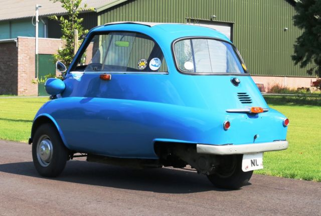 BMW BMW Isetta 300 collector car Coupe 1960 Blue For Sale ...