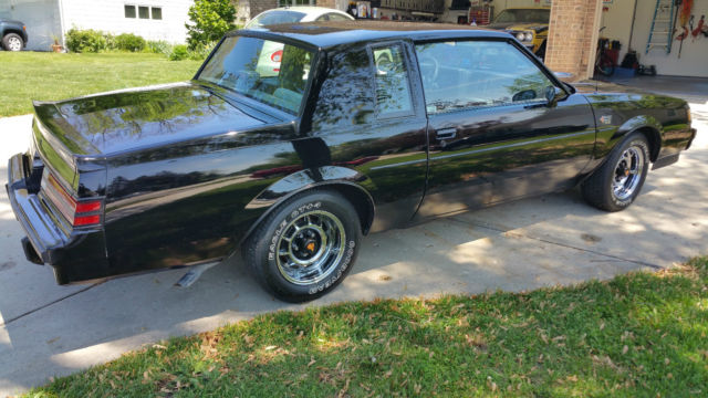 Buick Grand National Coupe 1987 Black For Sale