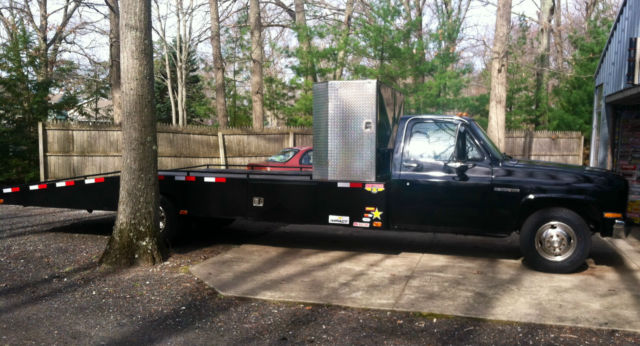 Chevrolet Silverado 3500 Ramp Truck 1986 Black For Sale