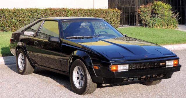 Toyota Supra Hatchback 1982 Black For Sale