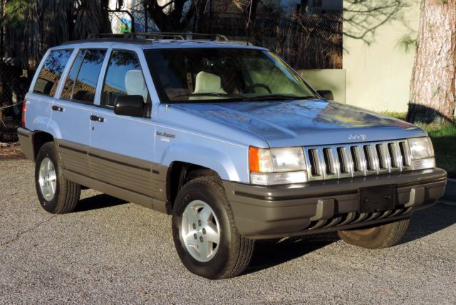 Jeep Grand Cherokee SUV 1993 Blue For Sale. 1J4GZ58Y0PC529320 ...