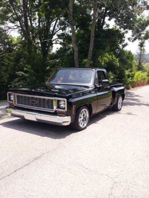 chevrolet c 10 pickup 1974 black for sale 000000000000 cars trucks. Black Bedroom Furniture Sets. Home Design Ideas