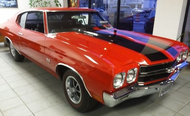 Chevrolet Chevelle Coupe 1970 Red For Sale  136370A154765 Chevelle