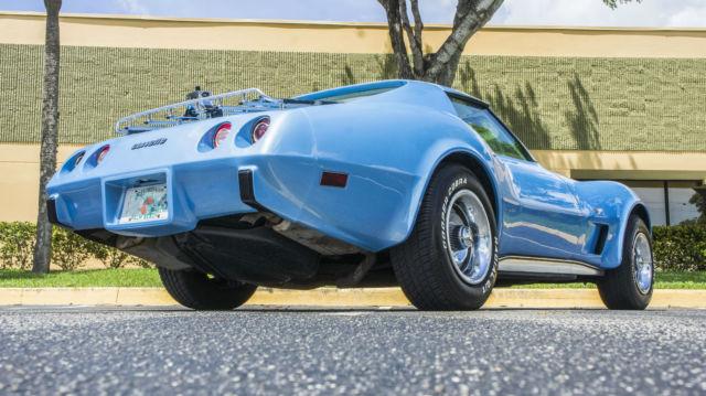 chevrolet corvette 1977 custom light blue for sale 1z37l7s439055 chevrolet corvette 1968 1969. Black Bedroom Furniture Sets. Home Design Ideas