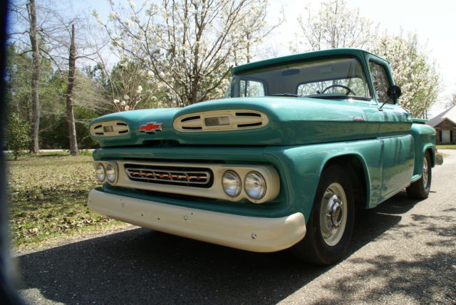Chevrolet Other Pickups Standard Cab Pickup 1961 Green For Sale
