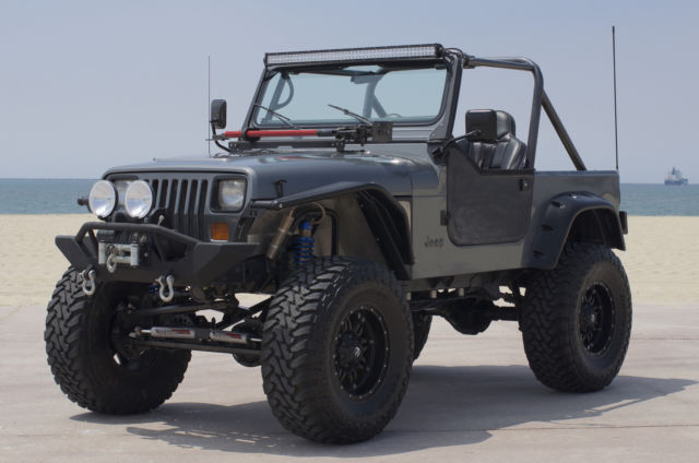 Jeep Wrangler Convertible 4x4 1990 Charcoal For Sale