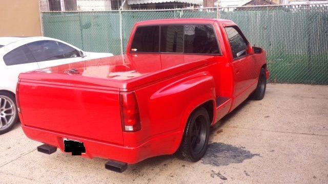 Chevrolet C/K Pickup 1500 Standard Cab Pickup 1990 Red For Sale. 1GCDC14K1LZ244394 Chevy Pick up ...