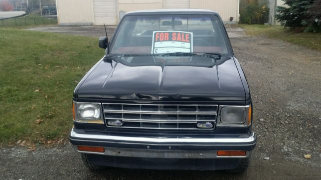 Chevrolet S-10 Cab & Chassis 1985 Black For Sale