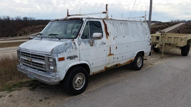 For Sale 1990 Chevrolet G20 Van