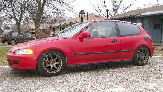 honda civic hatchback 1993 red for sale 2hgeh3382ph526526 civic si hatchback jdm. Black Bedroom Furniture Sets. Home Design Ideas