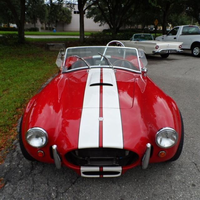 Shelby Cobra Replica Convertible 1967 Red For Sale