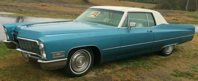 Cadillac deville coupe 1968 blue for sale classic 1968 cadillac for sale 1968 cadillac deville coupe deville publicscrutiny Image collections