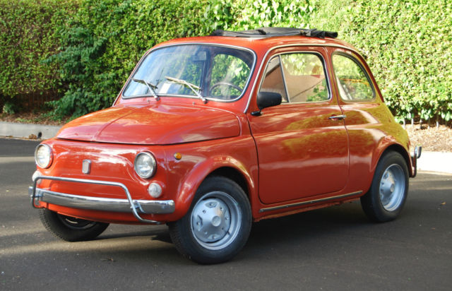 fiat 500 coupe 1969 red for sale 110f2210471 classic 1968 fiat 500 rebuilt and restored. Black Bedroom Furniture Sets. Home Design Ideas
