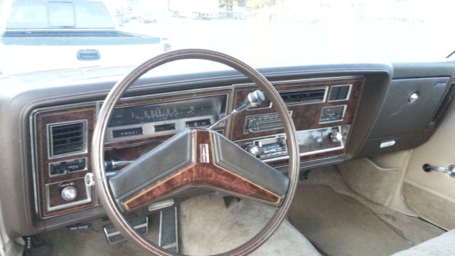 Oldsmobile Eighty Eight Coupe 1981 Brown For Sale
